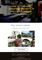 How to find good investment property in Hollywood Florida - JoinBuyersList