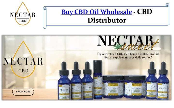 PPT - Buy CBD Oil Wholesale - CBD Distributor PowerPoint