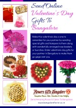 Send Online Valentine's Day Gifts To Bangalore