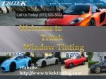 Commercial window tinting dallas