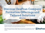 Discover DesFran Company Formation Offerings and Tailored Solutions