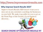 Improve Search Results SEO New York