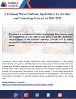 E-Compass Market Outlook, Applications by End User and Technology Forecast to 2017-2022