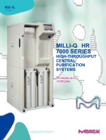 Milli-Q HR 7000 LAB WATER PURIFICATION SYSTEM