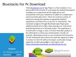 Bluestacks For Pc Free Download