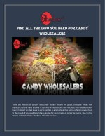 Find candy wholesaler information with Shadani Group