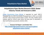 Polyethylene Pipes Market to Grow 106.51 Thousand Tons by 2025