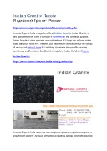 Indian Granite Russia