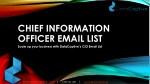 Chief Information Officer contact list