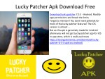 Lucky Patcher Apk Download Free