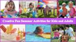 Best Fun Summer Activities to Keep Your Kids Busy