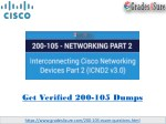 200-105 Test Questions: Interconnecting Cisco Networking Devices Part 2 (ICND2 v3.0)