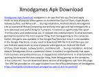 Xmodgames Apk Android