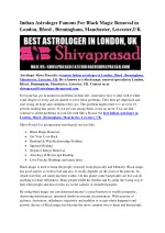 Indian Astrologer Famous For Black Magic Removal in London, Ilford , Birmingham, Manchester, Leicester,UK