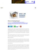 What are Franking Charges?