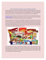Facts That Nobody Told You About Monthly Candy Box