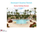 Davenport Vacation Rentals