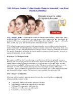 XYZ Collagen Cream Review – Reduces Wrinkles, Lines and Sagging Skin & Get Free Trail !!