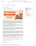 Online patanjali products 2018 patanjali products price list near me