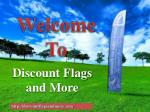 Bow Flags, Patriotic Pennants & Extra Large Flag