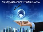 Top Benefits of GPS Realtime Tracking Device