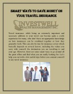Smart ways to save money on your travel insurance