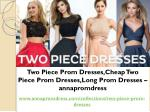 Two Piece Prom Dresses,Cheap Two Piece Prom Dresses,Long Prom Dresses – annapromdress