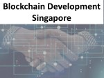 Blockchain Development Singapore