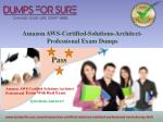 Proven Success Formula for AWS Certified Solutions Architect Professional Test