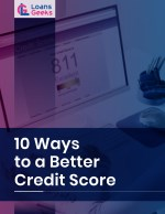 10 Ways to a Better Credit Score
