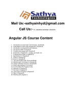 Angular 5 training in Hyderabad