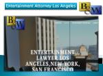Entertainment Attorney Los Angeles