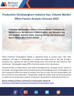 Production Checkweighers Industry Key Raw Materials, Market Effect Factors Forecast 2022