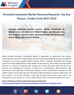 Dimethyl Carbonate Market Distributors, Industrial Chain, Cost Analysis By 2022
