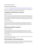 Toothpaste For Receding Gums Treatment