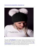 Russian Fur Hats & Fur Accessories for winter | Arctic-Store