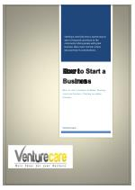 How to Start a Business-Venture care | Starting your own business, Starting an online business