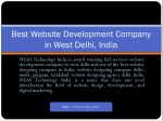 Website Development in West Delhi