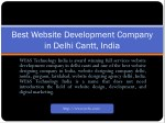 Website Development in Delhi Cantt