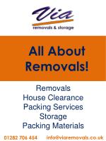 Via Removals & Storage Ltd