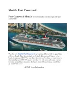 Shuttle Port Canaveral