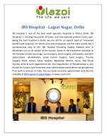 IBS Hospital - Multi Specialty Hospitals in Lajpat Nagar, Delhi