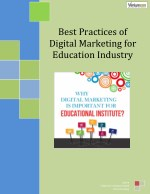 Best practices of digital marketing for education industry - Venture Care