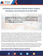 Scaffolding and Accessories Market Competitive Situation and Trends, Demands Outlook 2022
