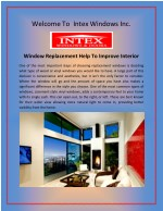 Replacement Windows in Los Angeles - Intex Windows Inc.
