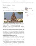 Online Patanjali Products_ Learn about Maharishi Patanjali Yoga Sutras
