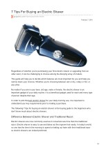 7 Tips For Buying an Electric Shaver