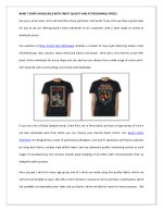 BAND T-SHIRTS WHOLESALE WITH FINEST QUALITY AND AT REASONABLE PRICES