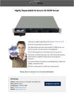 Highly Dependable & Secure CD ROM Server