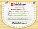 Flowers, Cakes and Gifts Delivery Online in new Delhi
